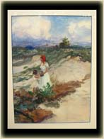 John Whorf Watercolor - Frontside