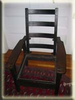 Gustave Stickley Morris chair