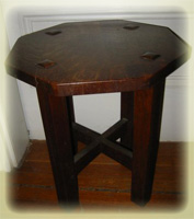 L&JG Stickley Taboret Table