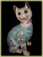Pottery Cat CA. 1896, Stoke on Trent $805.00